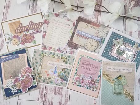 Spellbinders|Vintage Momentos Card Kit