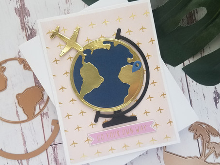 Spellbinders|Card Kit of the Month, Around The World