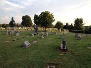 Free Writing and Cemeteries