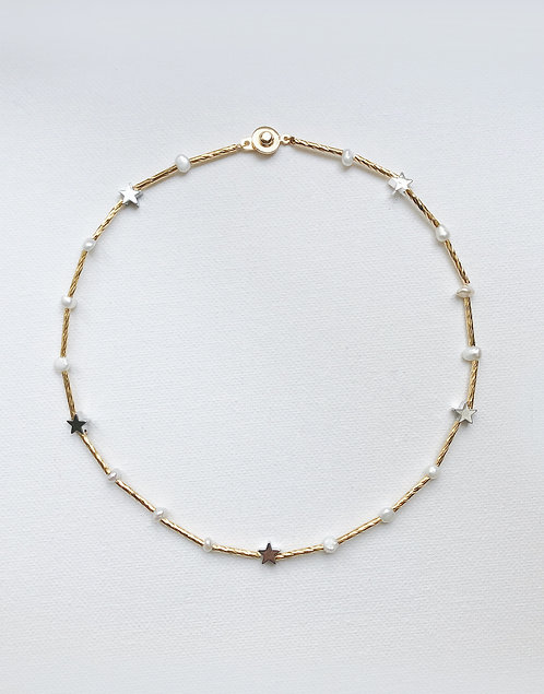 Stardust Collar Necklace