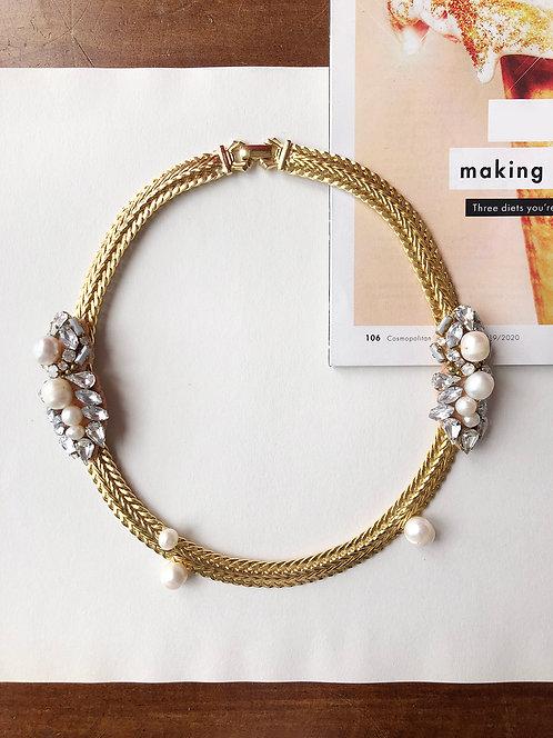 #BIJOU-XOXO Caia Embellished Necklace