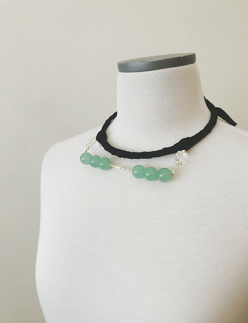 Fabric Choker - Black