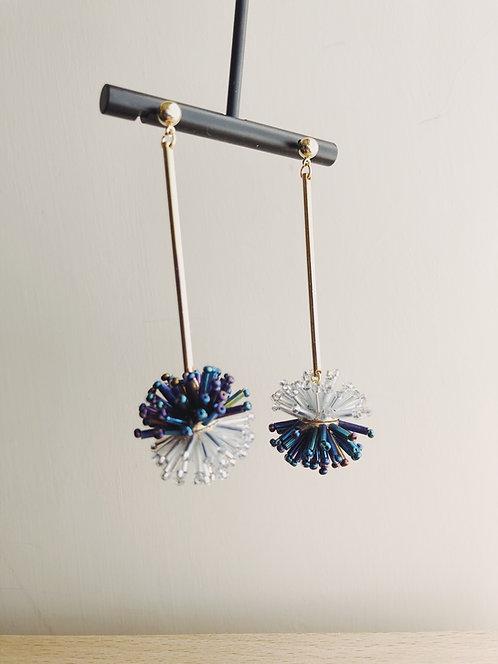 Sparkler drop earrings