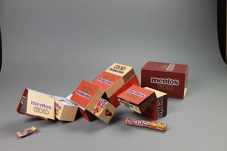 packaging innovant mentos choco chocolat