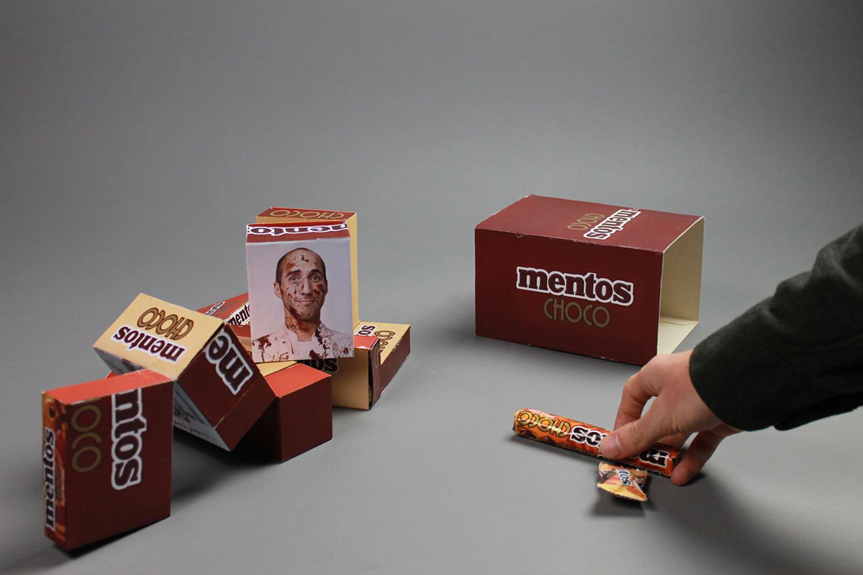 packaging innovant mentos choco chocolat bonbon