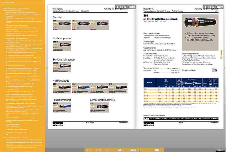 Parker PDF-Blätterkataloge DELTA-Fluid Industrietechnik GmbH