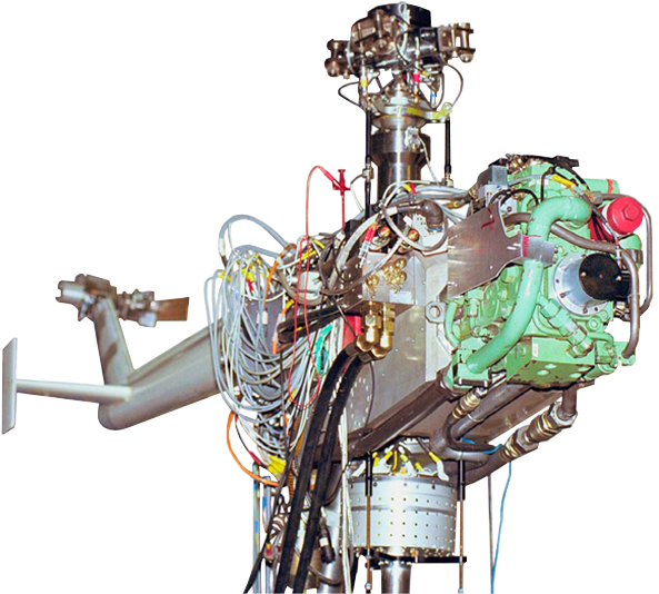 hydraulic rotation actuator DELTA-Fluid Industrietechnik GmbH