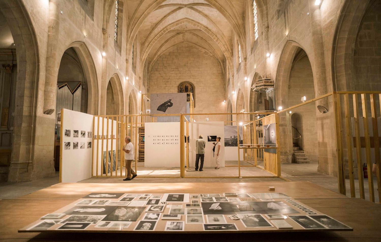 scenographie de l'exposition WORK IN PROGRESS 2017
