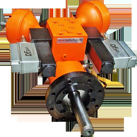 hydraulic speed actuator DELTA-Fluid Industrietechnik GmbH