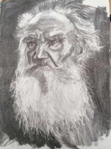 Charcoal sketch 19x25 cm Moleskine Plain