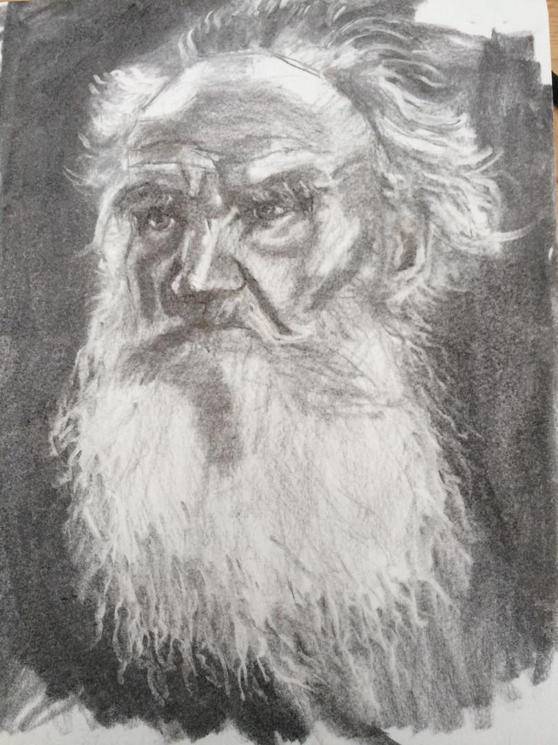 Charcoal sketch 19x25 cm Moleskine Plain