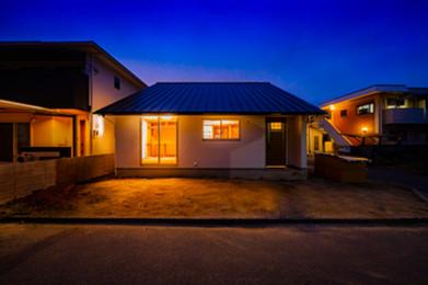 平屋2階建て屋根構造(愛媛の注文住宅)