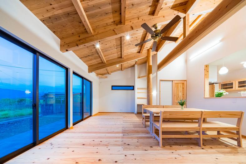 開放感ある平屋(愛媛県西条市)