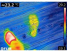 無垢材の温かみ実証実験