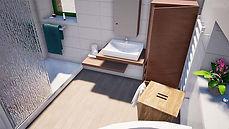 projet de réaménagement de la salle de bains