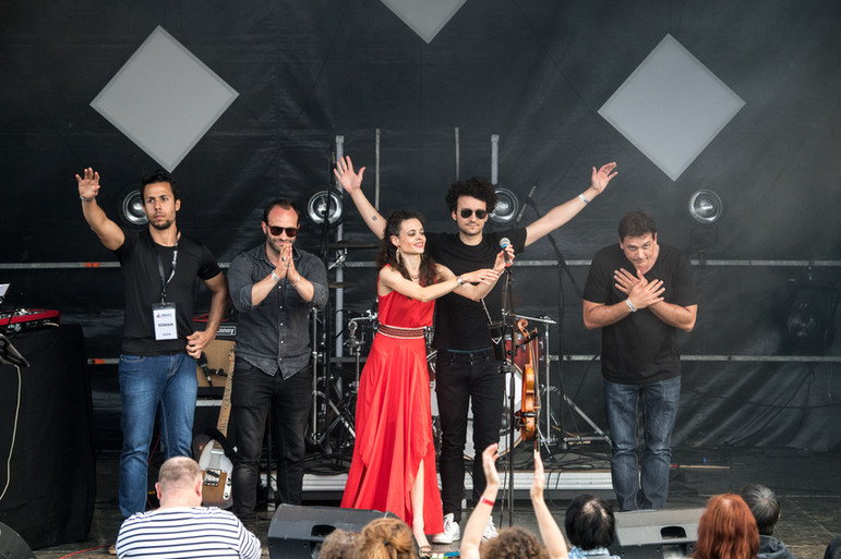 Calipsa au Festival de L'Oriolet