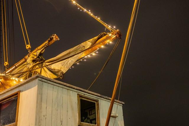 Sejlskibet FREM - Lysfestival 2019