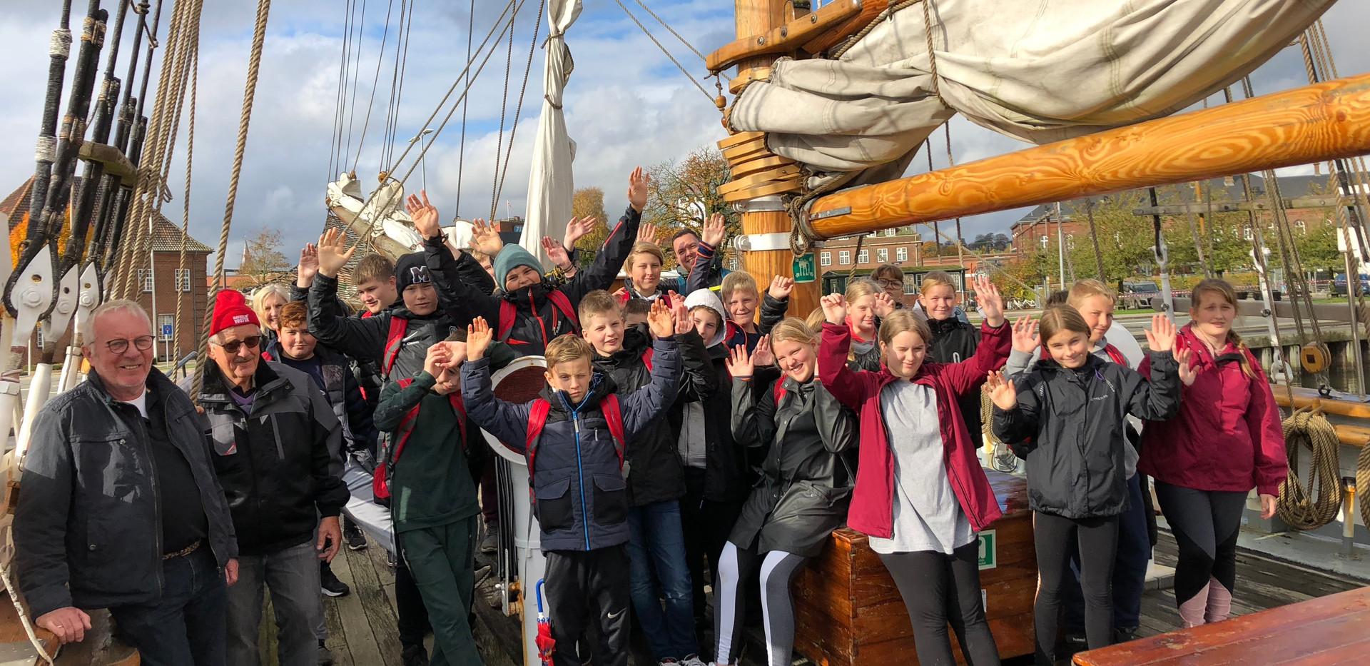 Sejlskibet FREM - Julemærkehjemmet Fjordmark