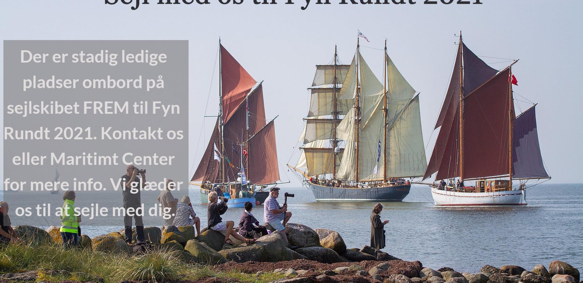 Sejlskibet FREM - Fyn Rundt 2021