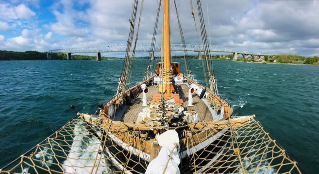 Sejlskibet FREM sejlture oplevelser arrangmenter firmaevent private mærkedag