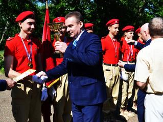 Команда ЗАТО Комаровский в очередной раз представит Оренбуржье на окружной юнармейской военно-спорти