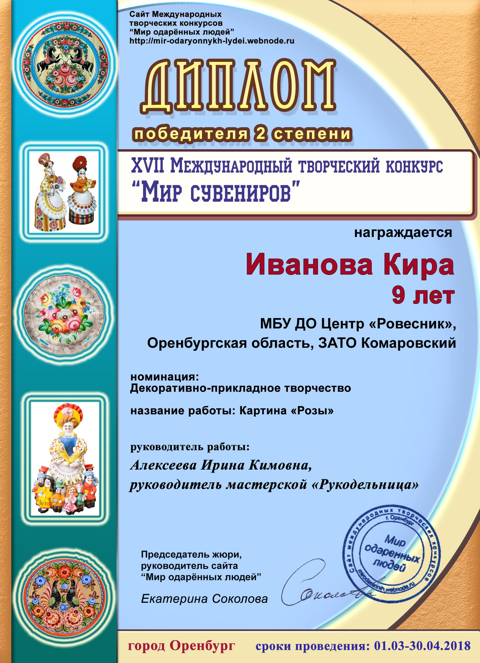 Иванова Кира (1)
