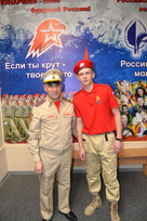 Воспитанник ЮВПК «Ровесник»  получил медаль «Юнармейская доблесть»