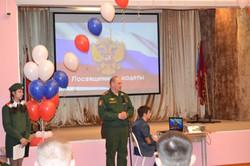 заместитель командира дивизии по работе с личным составом полковник Гизатулин С.  А..