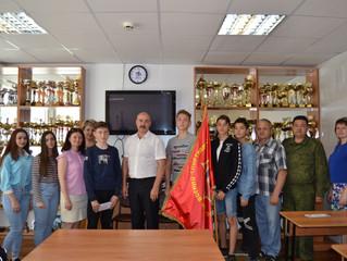 Победителей военно-спортивных соревнований «Зарница»  поздравили и наградили!