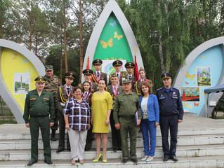 Переходящее знамя «Зарницы»  в ЗАТО Комаровский навсегда!