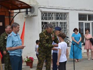 В рядах Юнармейцев, МО ЗАТО Комаровский молодое пополнение