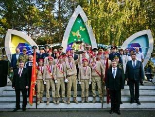Команда ЗАТО Комаровский в пятый раз стала победителем окружной военно-спортивной игры «Зарница Пово