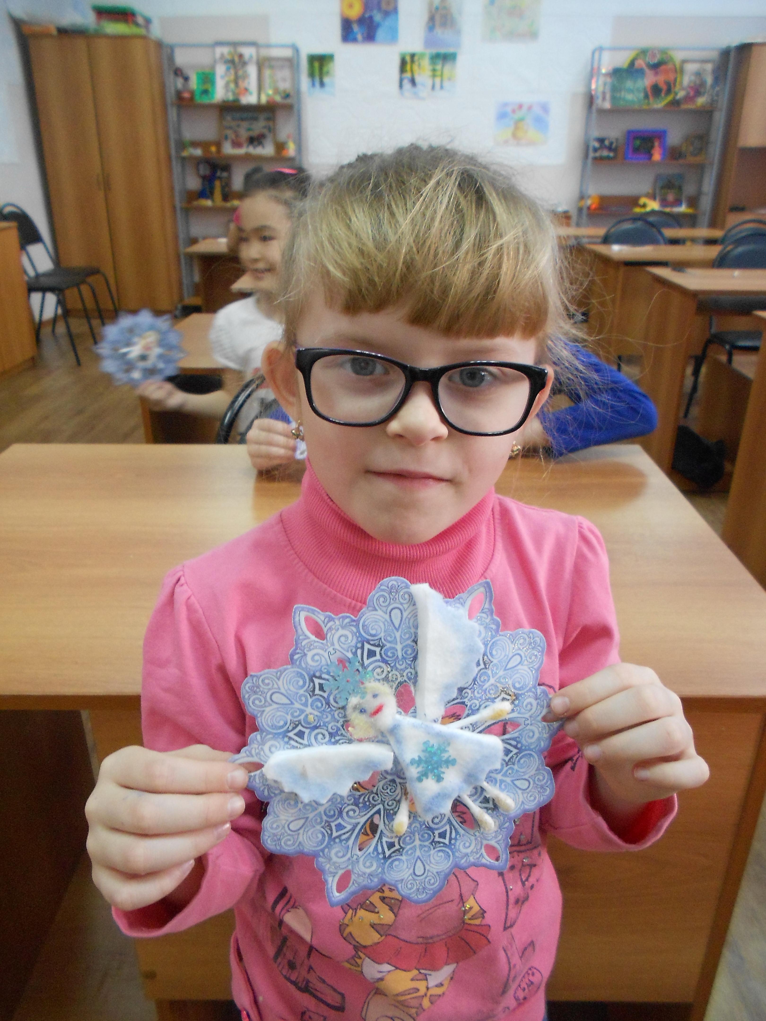 Рождественский ангелочек. Федотова Оля