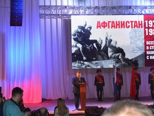 Ветераны местного  отделения ГО ЗАТО Комаровский «БОЕВОЕ БРАТСТВО» посетили юбилейный концерт в г. О