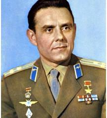 Дважды  Герой  Советского  Союза  Комаров Владимир Михайлович