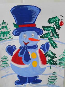 Снеговик Глебова Диана