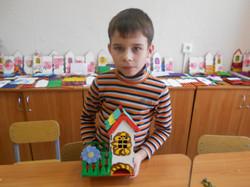 Артем и его домик.