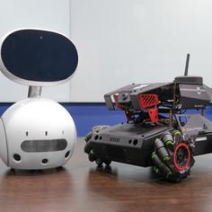 Zenbo Junior & car robot