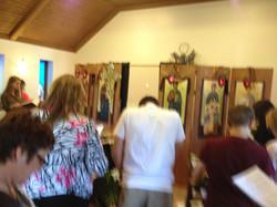 The congregation at worship 2013