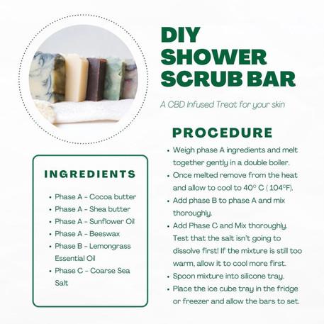 Try Our DIY Shower Scrub Bar!