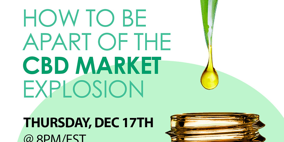 How To Be Positioned to Take Part in the CBD Market