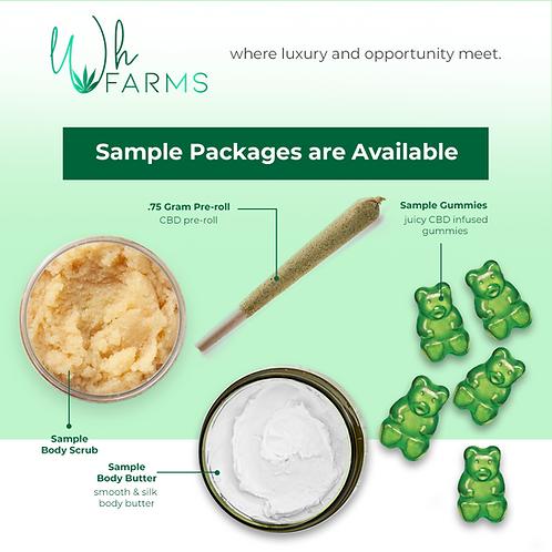 White Label & Kit Sample Pack