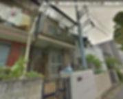 新生堂の現地の様子,築の古い古民家がありました