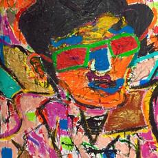 Bermano Elvis 60 x 48 Inches Acrylic on canvas