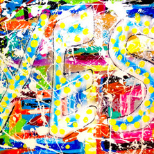 Bermano Yes 40 x 30 Inches Acrylic on canvas