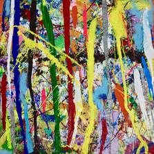 Bermano Box Art 60 x 48 Inces Acrylic on canvas