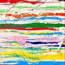 Bermano Love 48 x 36 inches Acrylic on canvas