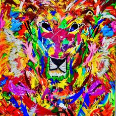 Bermano King Kong 9 x 7 Feet Acrylic on canvas