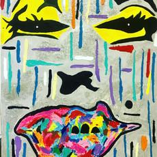 Bermano Monroe 60 x 48 Inches Acrylic on canvas