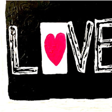 Bermano Love 40 x 30 inches Acrylic on c